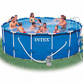 Каркасный бассейн Intex Metal Frame Pools 54946