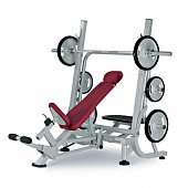 Скамья для жима штанги лежа наклонная PANATTA Free Weight H.P. HP205